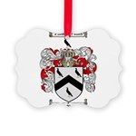 Thomas Coat of Arms Picture Ornament