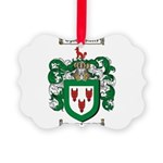 Todd Coat of Arms Picture Ornament