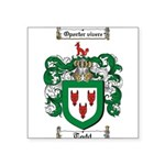 Todd Coat of Arms Square Sticker 3