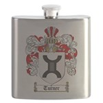 Turner Coat of Arms Flask