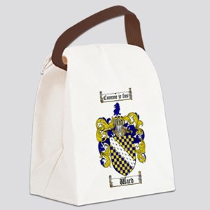 Ward Coat of Arms Canvas Lunch Bag