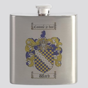 Ward Coat of Arms Flask