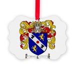 Webster Coat of Arms Picture Ornament