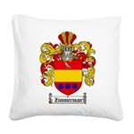 ZIMMERMAN Square Canvas Pillow
