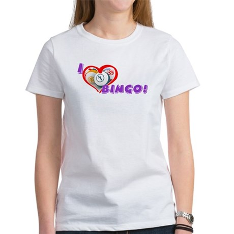 Bingo Lover's T-shirt (women)