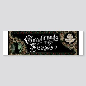 Phantom of the Opera Christmas Greeting Bumper Sti