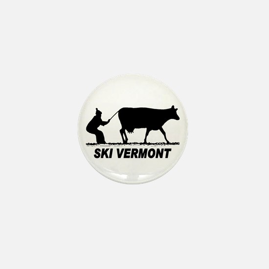 The Ski Vermont Shop Mini Button