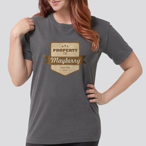 Property of Mayberry Womens Comfort Colors Shirt