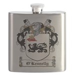 O'Kennelly Coat of Arms Flask