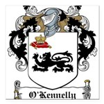 O'Kennelly Coat of Arms Square Car Magnet 3