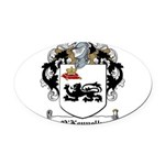 O'Kennelly Coat of Arms Oval Car Magnet