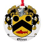 Oliver (Limerick)-Irish-9.jpg Round Ornament