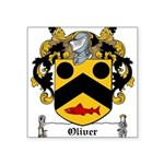 Oliver (Limerick)-Irish-9.jpg Square Sticker 3