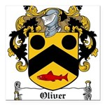 Oliver (Limerick)-Irish-9.jpg Square Car Magnet 3