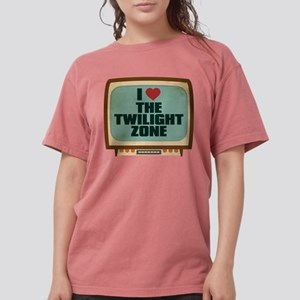 Retro I Heart The Twilight Zo Womens Comfort Color
