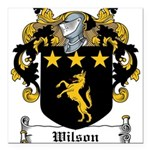 Wilson-Irish-9 Square Car Magnet 3