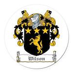 Wilson-Irish-9 Round Car Magnet