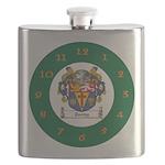 Tuohy Irish Coat of Arms Flask