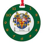 Tuohy Irish Coat of Arms Round Ornament