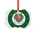 Tuohy Irish Coat of Arms Picture Ornament