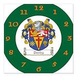 Tuohy Irish Coat of Arms Square Car Magnet 3