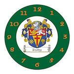Tuohy Irish Coat of Arms Round Car Magnet