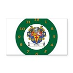 Tuohy Irish Coat of Arms Rectangle Car Magnet