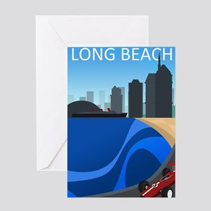 long_beach_travel200 Greeting Card