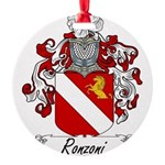 Ronzoni_Italian.jpg Round Ornament