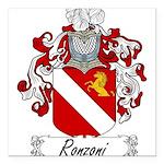 Ronzoni_Italian.jpg Square Car Magnet 3