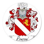 Ronzoni_Italian.jpg Round Car Magnet