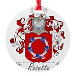 Rosetta_Italian.jpg Round Ornament