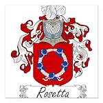 Rosetta_Italian.jpg Square Car Magnet 3