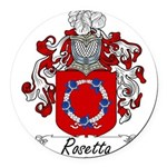 Rosetta_Italian.jpg Round Car Magnet