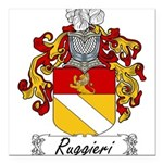 Ruggieri_Italian Square Car Magnet 3