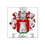 Soleri_Italian.jpg Square Sticker 3