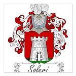 Soleri_Italian.jpg Square Car Magnet 3
