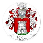 Soleri_Italian.jpg Round Car Magnet