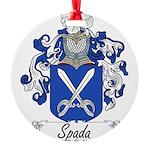 Spada_Italian.jpg Round Ornament