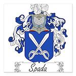Spada_Italian.jpg Square Car Magnet 3