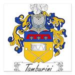 Tamburini_Italian.jpg Square Car Magnet 3