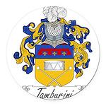 Tamburini_Italian.jpg Round Car Magnet