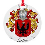 Tartini_Italian Round Ornament