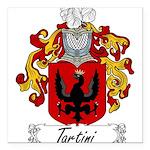 Tartini_Italian Square Car Magnet 3