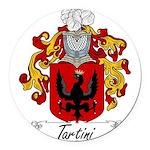 Tartini_Italian Round Car Magnet