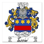 Tessini_Italian Square Car Magnet 3