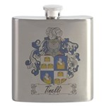 Tinelli Coat of Arms Flask