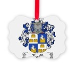 Tinelli Coat of Arms Picture Ornament