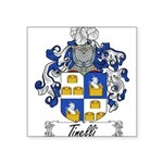 Tinelli Coat of Arms Square Sticker 3