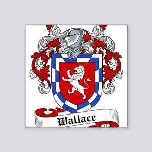 """Wallace Coat of Arms Square Sticker 3"""" x 3"""""""